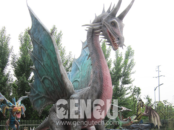 Animatronic Dragons