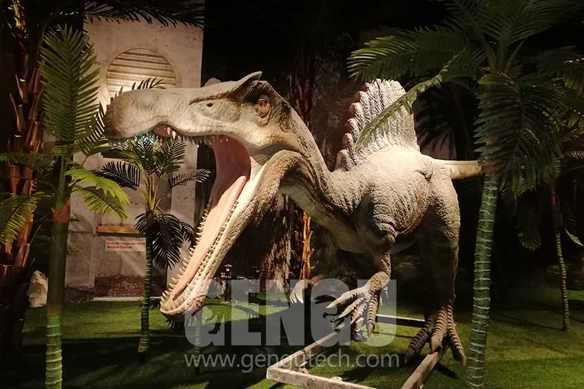 Animatronic dinosaur indoor Exhibition