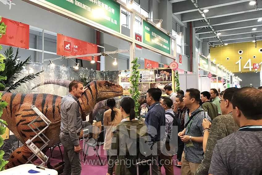 Gengu Dinosaurs will attend 125th Canton Fair 2019 April
