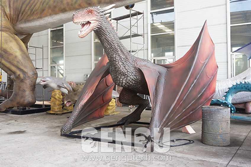 Animatronic Chinese Dragon-Company News-Animatronic Dinosaurs