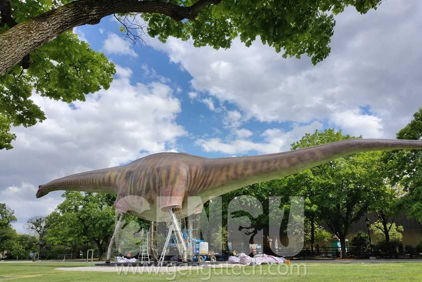 Over 100 feet length Argentinosaurus will Appear in Chicago