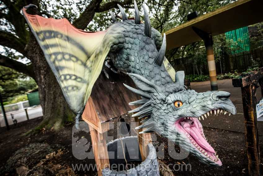 Animatronic Dragons Soar To The World