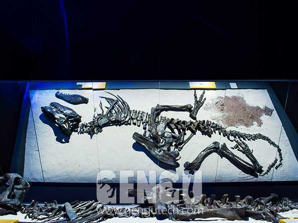 Dino Buried Statue(FP-260)