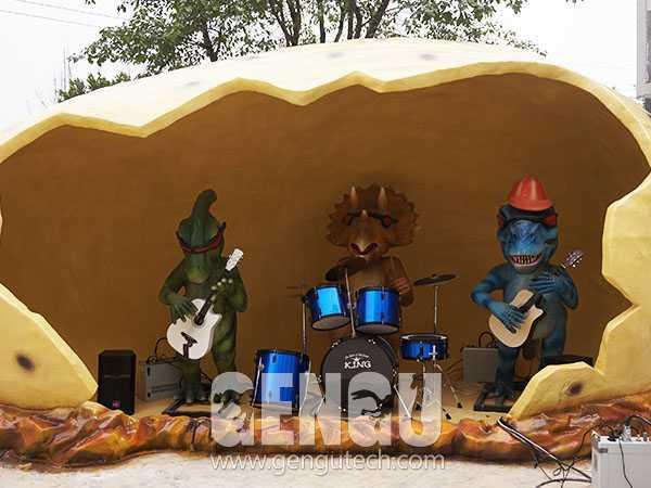 Cartoon Dinosaur Band(CP-722)