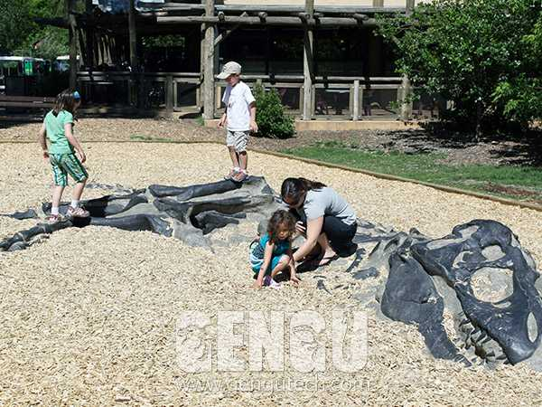 Dino Buried Statue(FP-1009)